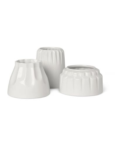 Alba candle holders Flock 1, set of 3 pcs.