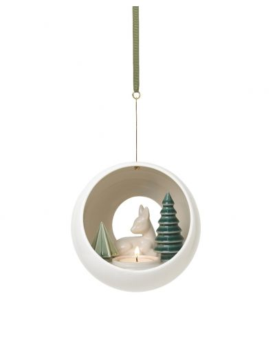 Winter Stories Fawn Hanging Votive