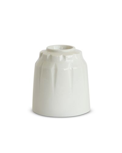 Alba Candlestick Five White