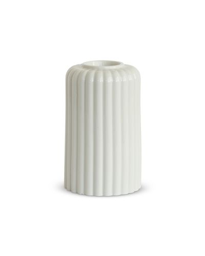 Alba Candlestick Six White