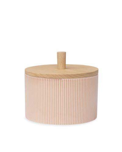 Pipanella Lid Jar Big Drum, Dusty Coral