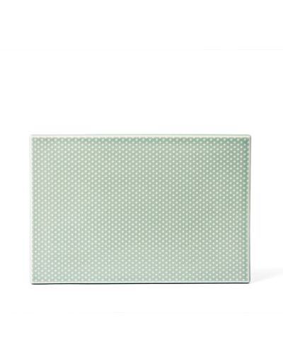 Pipanella Serving Tile Dot, Celadon